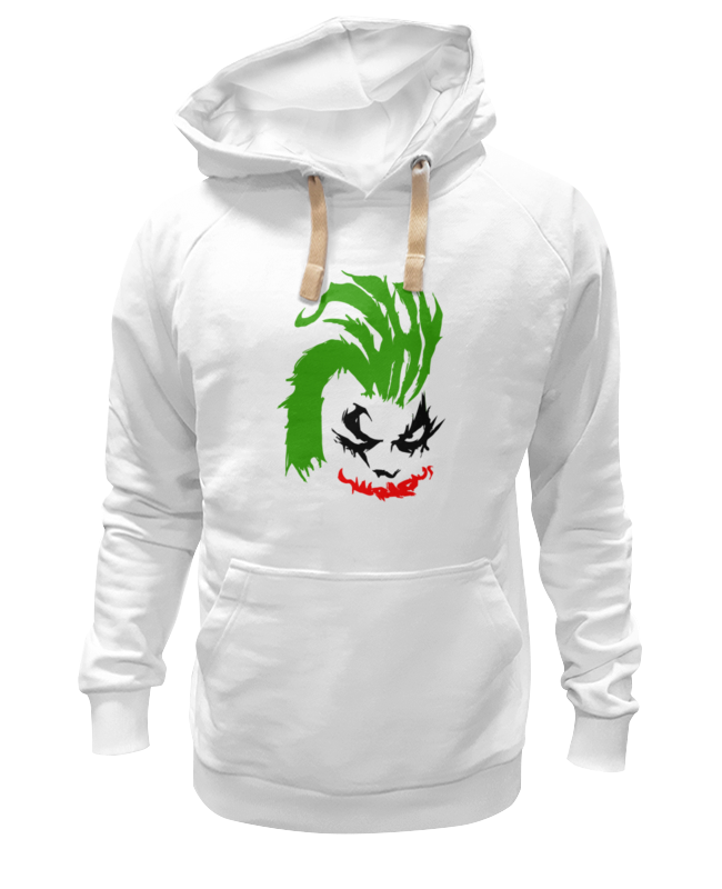 Толстовка Wearcraft Premium унисекс Printio Why so serious? (joker)