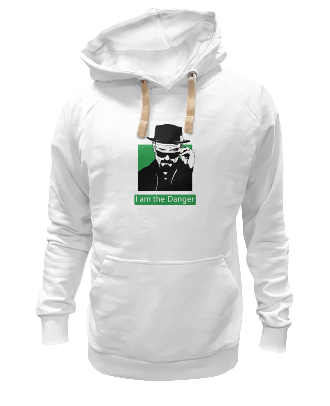 Printio I am the danger (breaking bad) свитшот print bar breaking bad the danger
