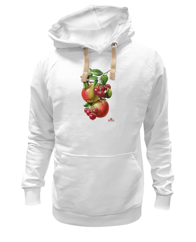 Толстовка Wearcraft Premium унисекс Printio Яблочки, вишенки лонгслив printio яблочки вишенки