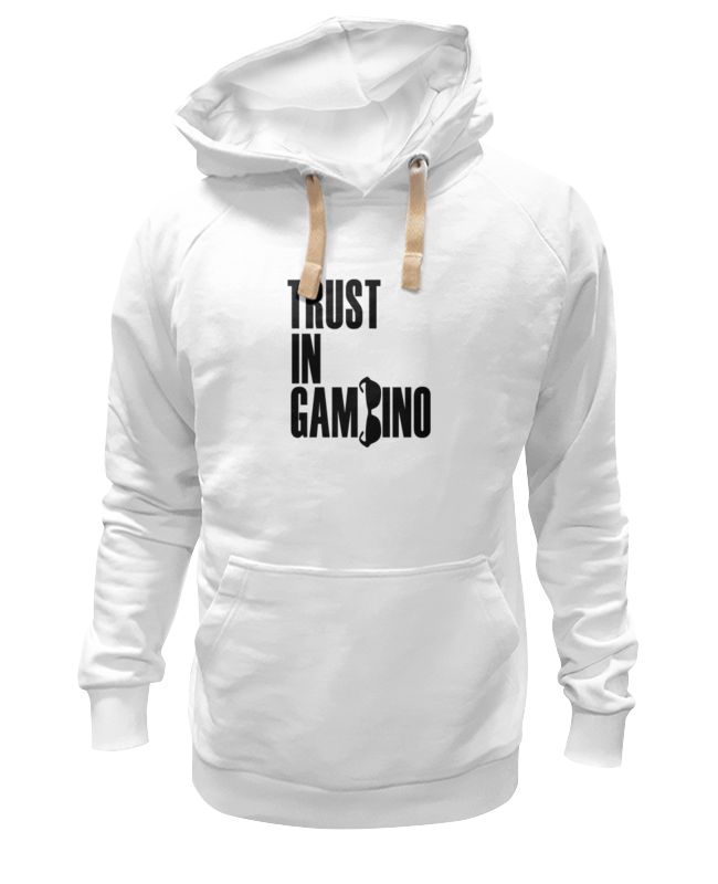 Толстовка Wearcraft Premium унисекс Printio Trust in gambino футболка wearcraft premium slim fit printio trust in gambino