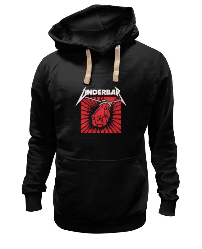 Толстовка Wearcraft Premium унисекс Printio Underbar black hoodie buff hoodie black black