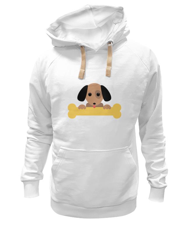 Толстовка Wearcraft Premium унисекс Printio Собачка с косточкой фантазер плюшевое сердце собачка с косточкой