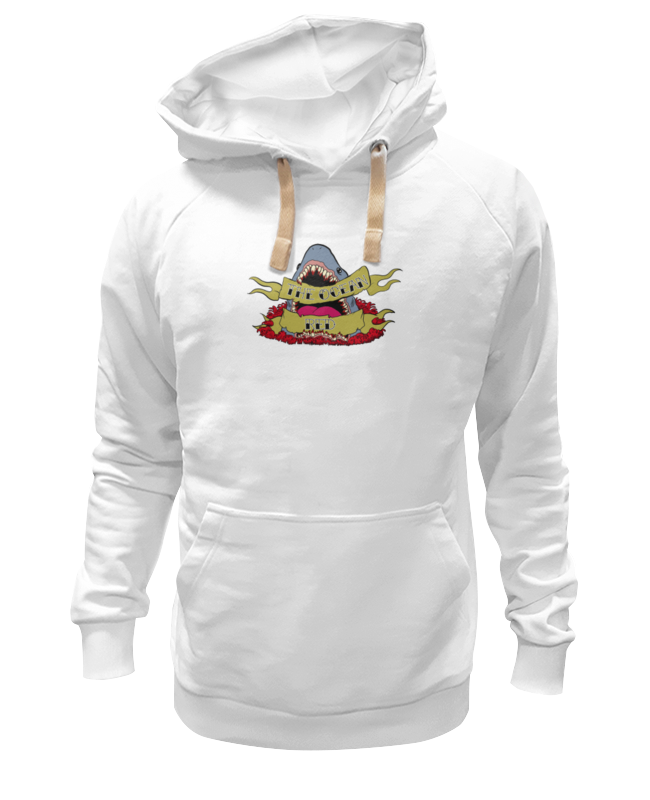 Толстовка Wearcraft Premium унисекс Printio Shark футболка wearcraft premium printio bape shark