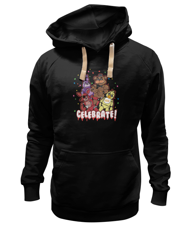 Толстовка Wearcraft Premium унисекс Printio Пять ночей у фредди (five nights at freddy's) худи print bar five nights at freddy's