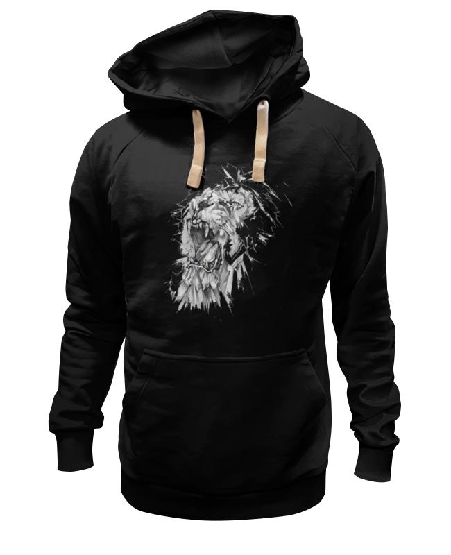 Толстовка Wearcraft Premium унисекс Printio Growl lion худи print bar skull lion