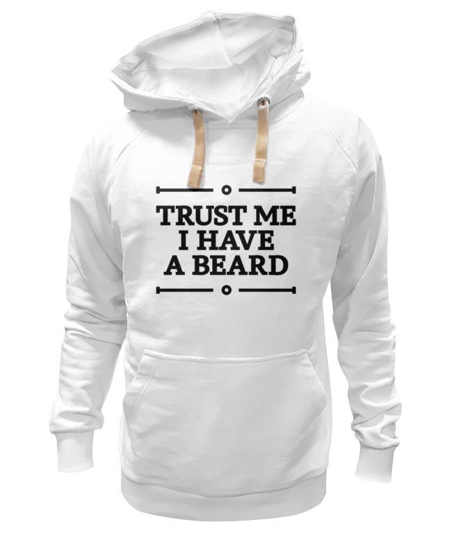Толстовка Wearcraft Premium унисекс Printio Trust me trust toilette пиджак