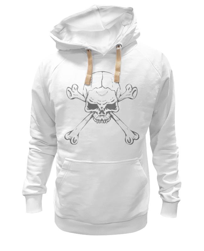 Толстовка Wearcraft Premium унисекс Printio Череп с костями кинг с мешок с костями