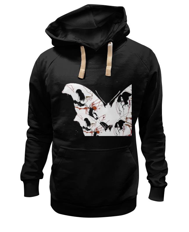 Толстовка Wearcraft Premium унисекс Printio Бабочка ангела смерти