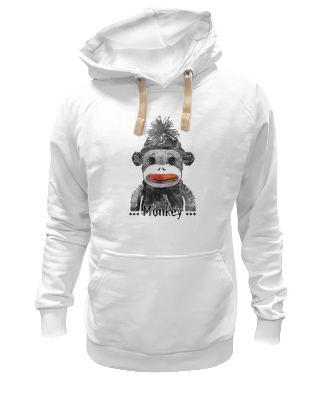 Толстовка Wearcraft Premium унисекс Printio Monkey 2016 - обезьянка 2016 футболка wearcraft premium printio art monkey 2016