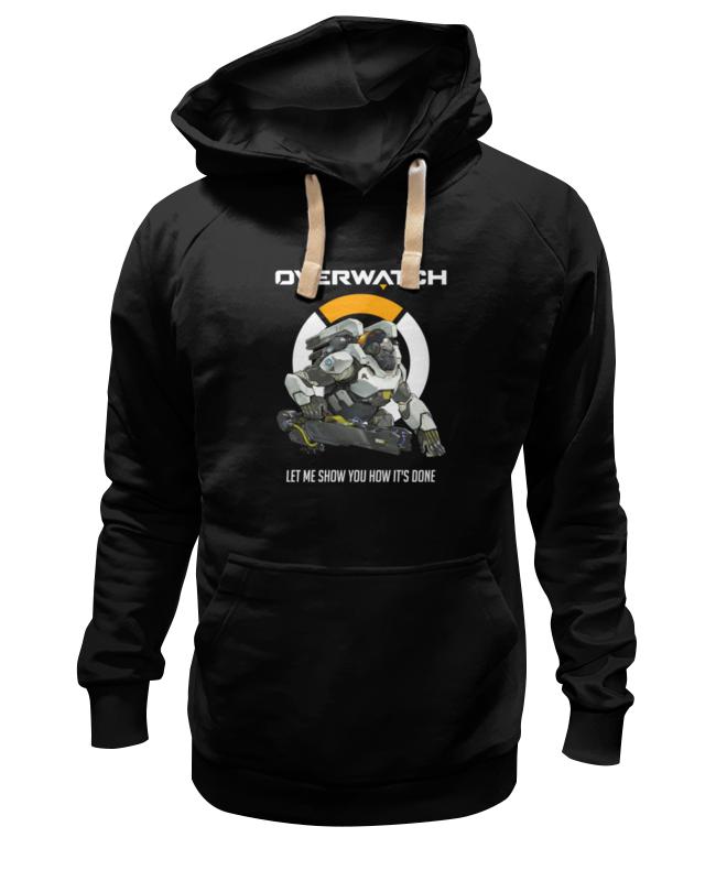 Толстовка Wearcraft Premium унисекс Printio Overwatch. уинстон толстовка wearcraft premium унисекс printio overwatch ана