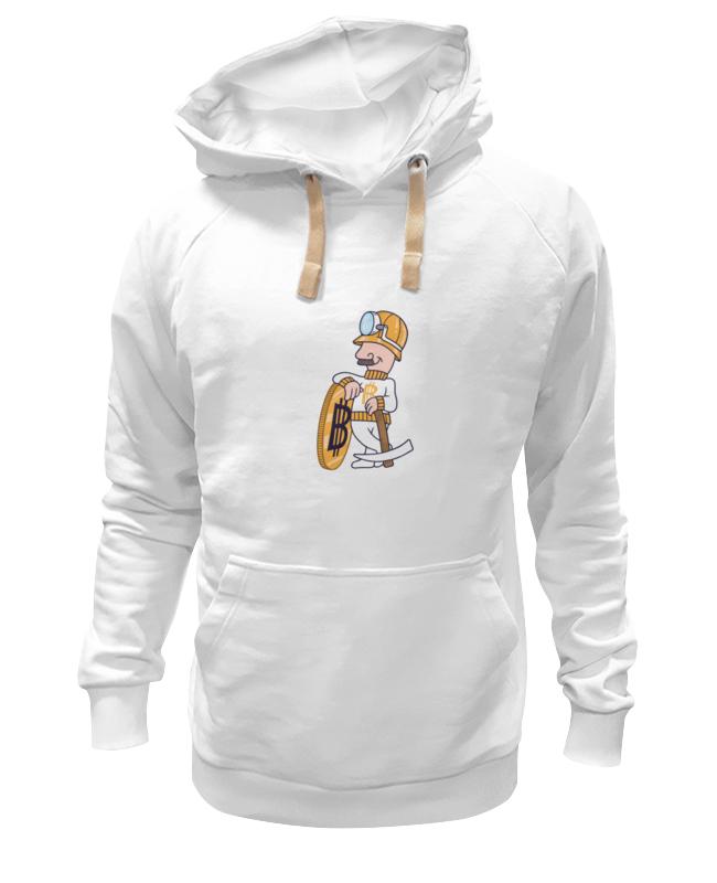 Толстовка Wearcraft Premium унисекс Printio Bitcoin miner футболка wearcraft premium printio bitcoin miner