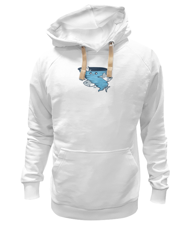 Толстовка Wearcraft Premium унисекс Printio Водоворот акул