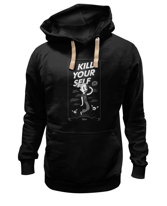 Толстовка Wearcraft Premium унисекс Printio Kill your self майка классическая printio kill your self