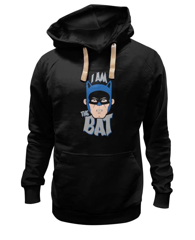 Толстовка Wearcraft Premium унисекс Printio I am the bat