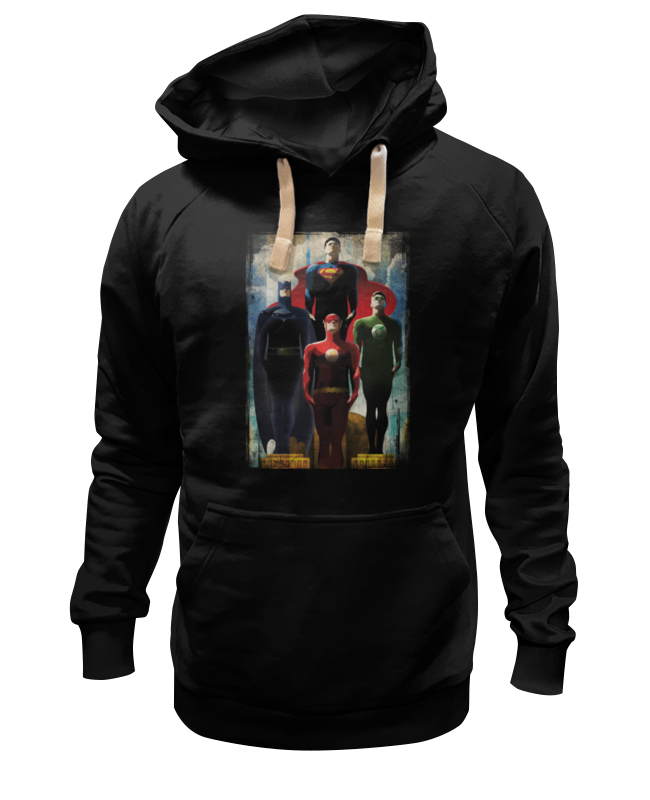 Толстовка Wearcraft Premium унисекс Printio Супергерои толстовка wearcraft premium унисекс printio собаки супергерои