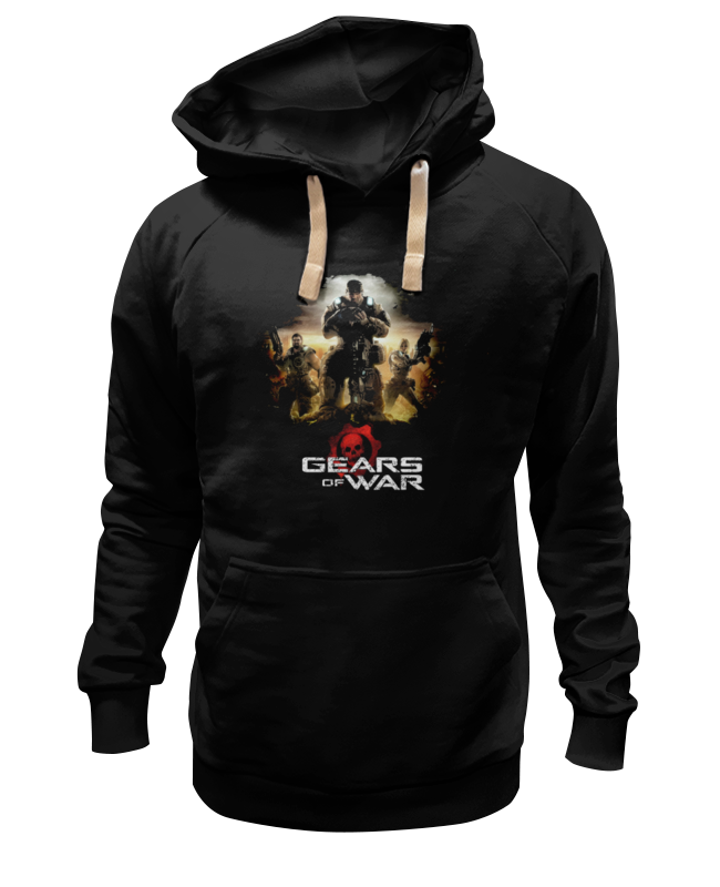 Толстовка Wearcraft Premium унисекс Printio Gears of war 2 футболка wearcraft premium slim fit printio gears of war