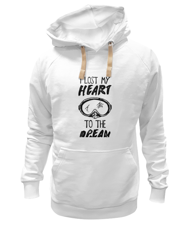 Толстовка Wearcraft Premium унисекс Printio I lost my heart to the ocean i heart блузка