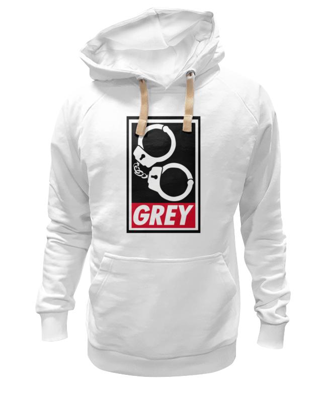 Толстовка Wearcraft Premium унисекс Printio 50 оттенков серого (fifty shades of grey) fifty shades darker no bounds riding crop длинный стек из натуральной кожи