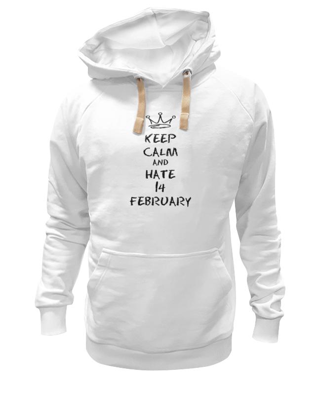 Толстовка Wearcraft Premium унисекс Printio 14 февраля толстовка wearcraft premium унисекс printio 23 февраля