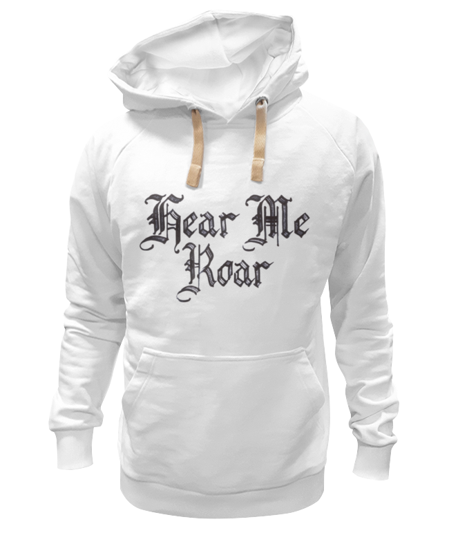 Толстовка Wearcraft Premium унисекс Printio Hear me roar hear