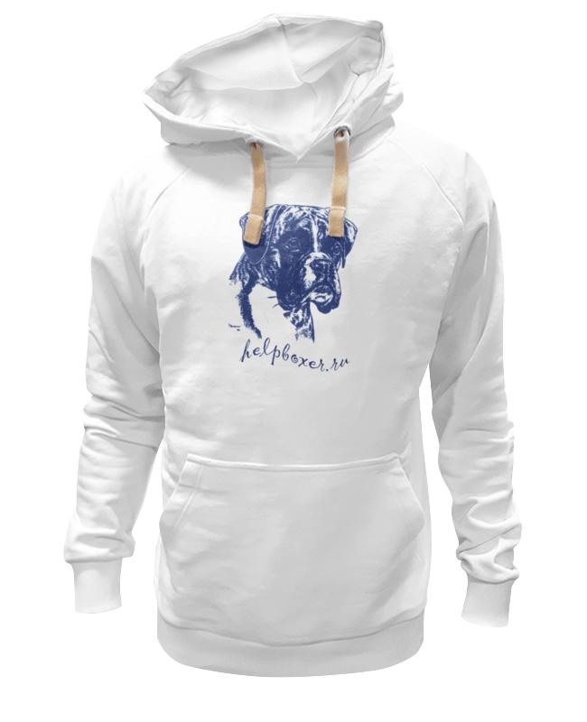 Толстовка Wearcraft Premium унисекс Printio Boxer blue 9814 modal elastic comfortable breathable boxer underwear for men royal blue size xxl