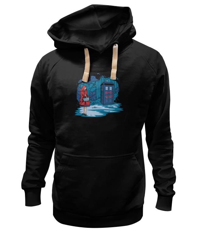 Толстовка Wearcraft Premium унисекс Printio Красная шапочка и тардис футболка wearcraft premium slim fit printio красная шапочка и тардис