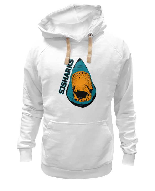 Толстовка Wearcraft Premium унисекс Printio San jose sharks сан-хосе шаркс haunts of san jose