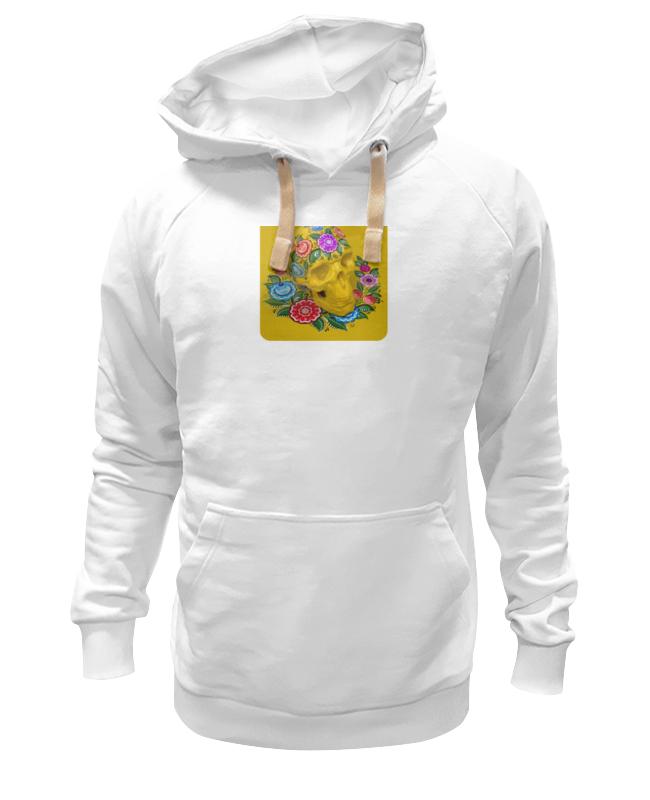 Толстовка Wearcraft Premium унисекс Printio Череп (городецкая роспись) детская футболка классическая унисекс printio череп городецкая роспись