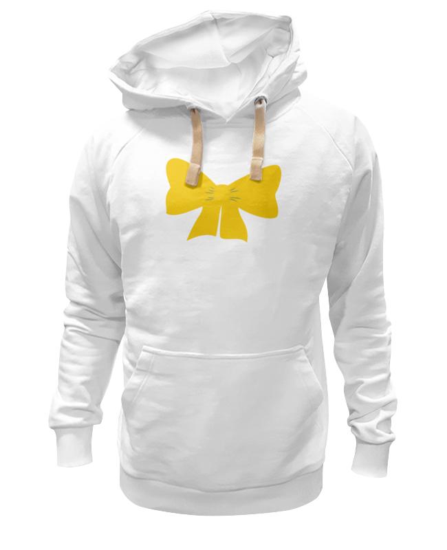 Толстовка Wearcraft Premium унисекс Printio Желтый бант футболка wearcraft premium printio бант