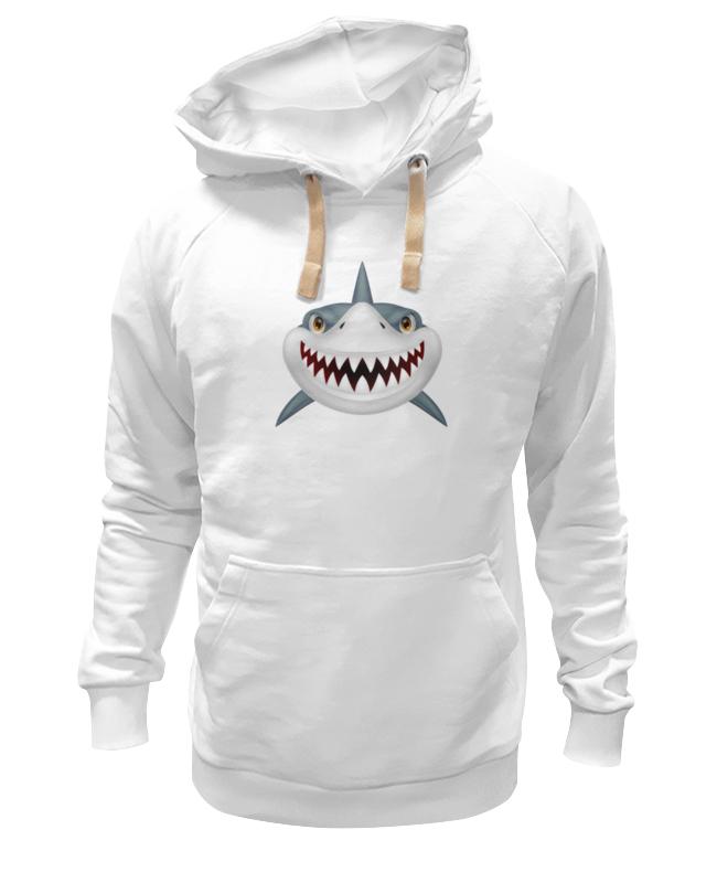 Толстовка Wearcraft Premium унисекс Printio Акула цена и фото