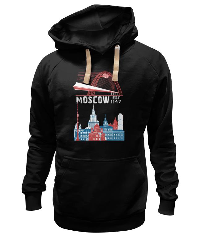 Толстовка Wearcraft Premium унисекс Printio Moscow. established in 1147 faithless live in moscow