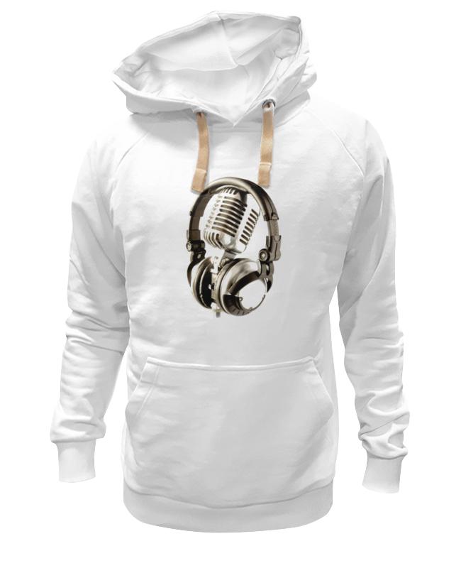 Толстовка Wearcraft Premium унисекс Printio Микрофон & наушники сумка printio микрофон