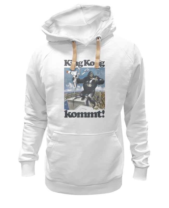 Printio King kong толстовка wearcraft premium унисекс printio king kong lives