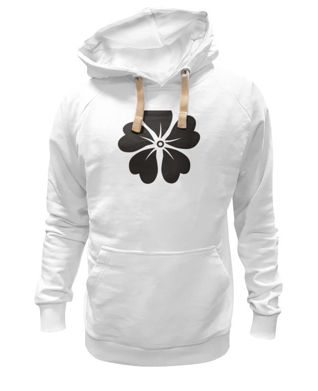 Толстовка Wearcraft Premium унисекс Printio Черный цветок толстовка wearcraft premium унисекс printio черный арлекин