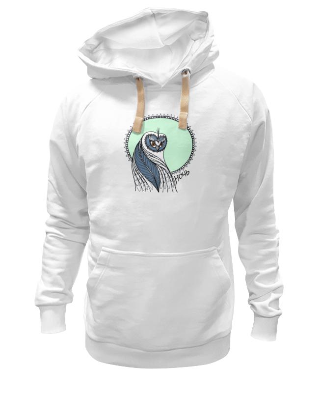 Толстовка Wearcraft Premium унисекс Printio Совушка ночь футболка wearcraft premium printio совушка ночь