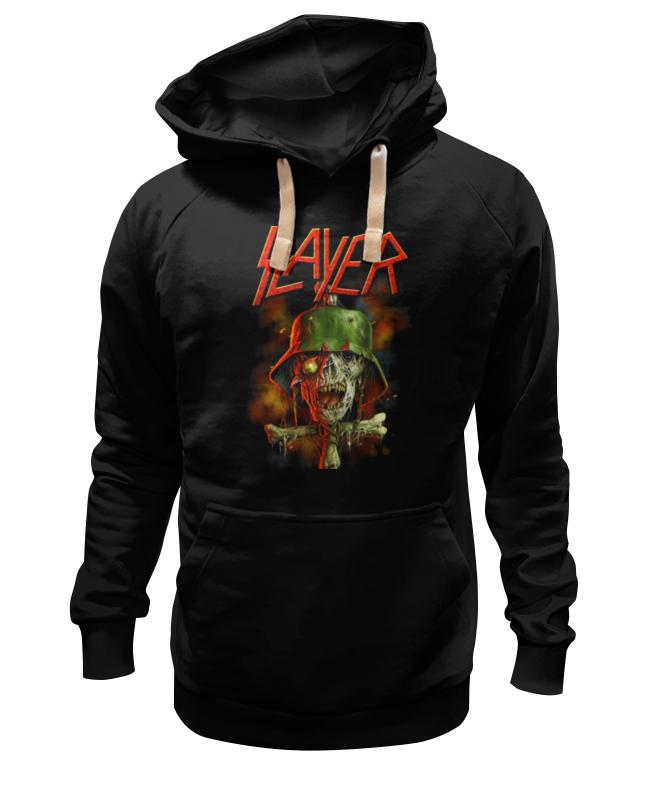 Толстовка Wearcraft Premium унисекс Printio Slayer band толстовка wearcraft premium унисекс printio kiss band