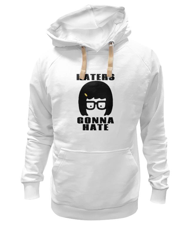 Толстовка Wearcraft Premium унисекс Printio Haters gonna hate (tina belcher) детская футболка классическая унисекс printio haters gonna hate tina belcher