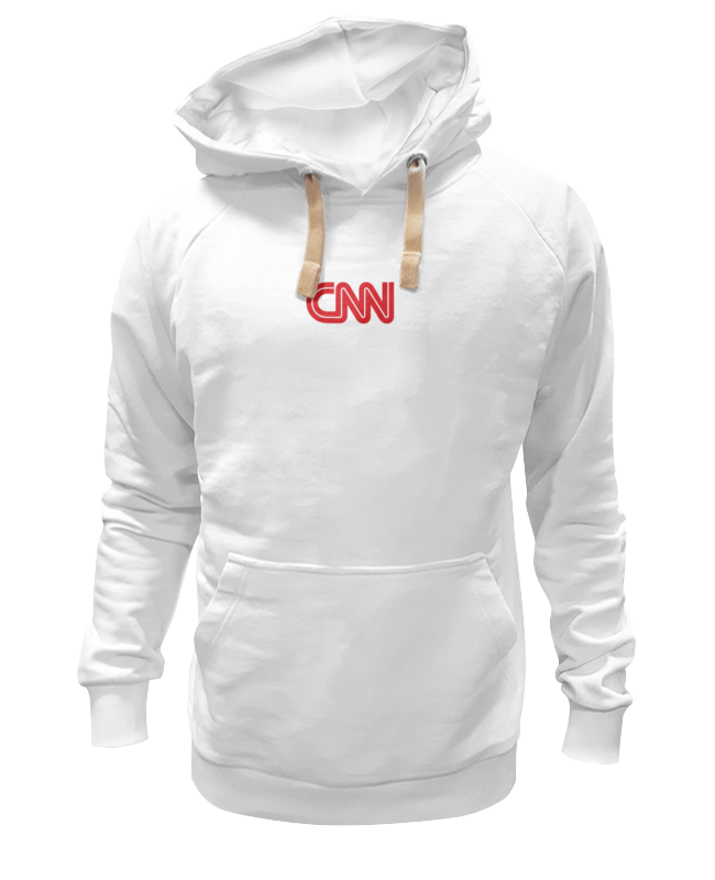 Толстовка Wearcraft Premium унисекс Printio Cnn (cable news network) футболка wearcraft premium slim fit printio cnn cable news network