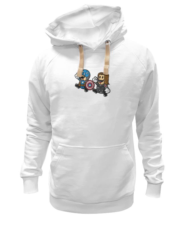 Толстовка Wearcraft Premium унисекс Printio Марио (капитан америка) сумка printio марио капитан америка