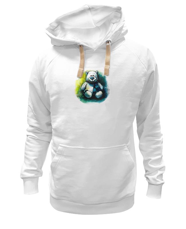 Толстовка Wearcraft Premium унисекс Printio Медведь плюшевый
