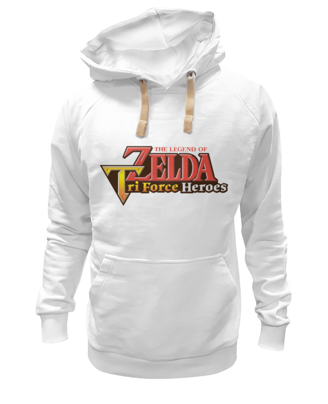 Толстовка Wearcraft Premium унисекс Printio Legend of zelda triforce heroes брелок с подсветкой the legend of zelda triforce