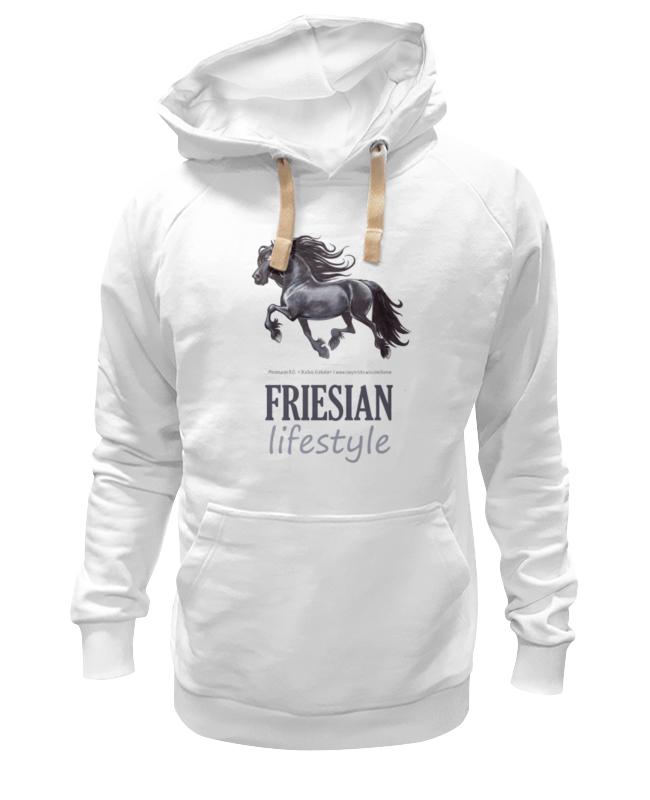 Толстовка Wearcraft Premium унисекс Printio Friesian lifestyle