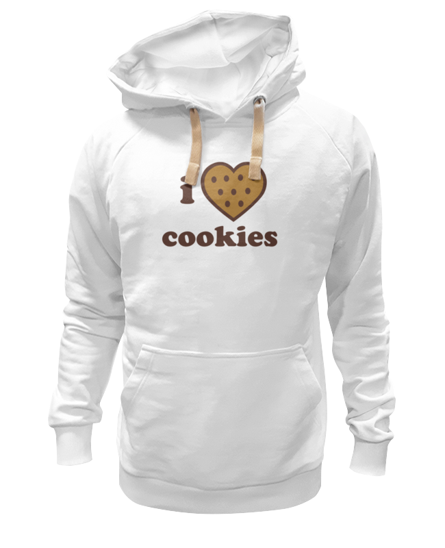 Толстовка Wearcraft Premium унисекс Printio I love cookies