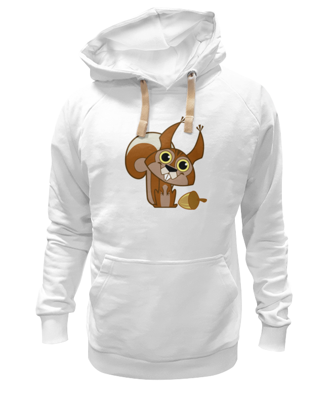 Толстовка Wearcraft Premium унисекс Printio Белочка футболка wearcraft premium printio белочка