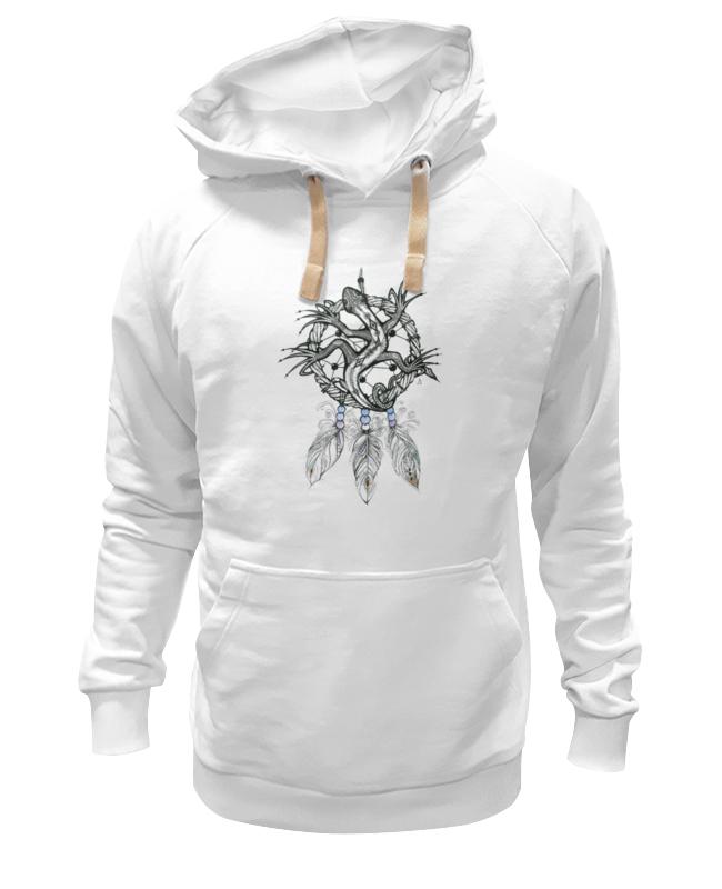 Толстовка Wearcraft Premium унисекс Printio Ловец снов ящерка футболка рингер printio ловец снов ящерка