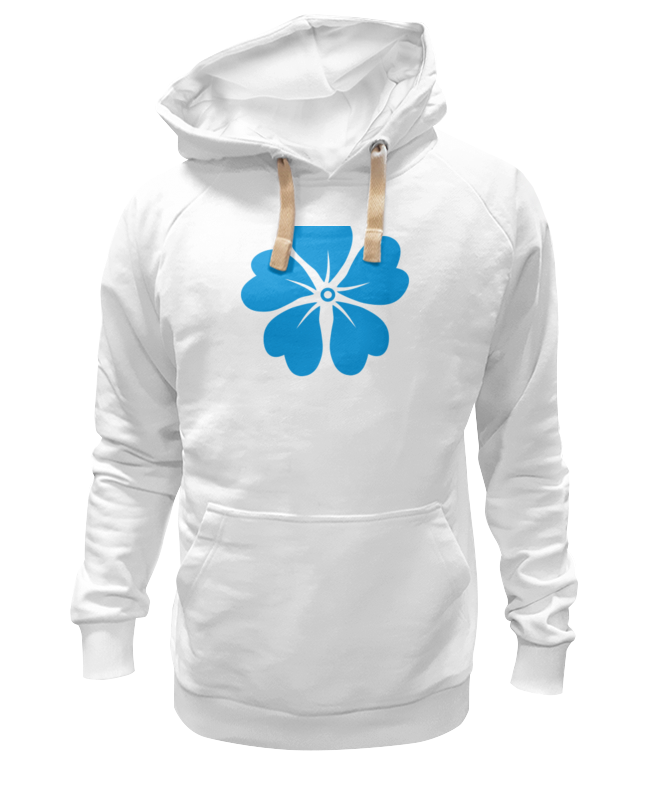 Толстовка Wearcraft Premium унисекс Printio Голубой цветок asled голубой цветок пламени xl no