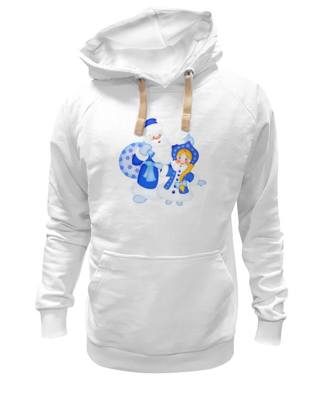 Толстовка Wearcraft Premium унисекс Printio Дед мороз и снегурочка костюм снегурочки конфетки 40 44