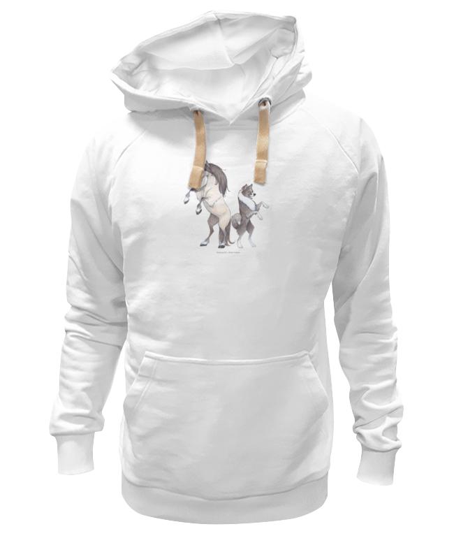 Толстовка Wearcraft Premium унисекс Printio Якутская лошадь/якутская лайка мягкие игрушки trudi лайка маркус 34 см