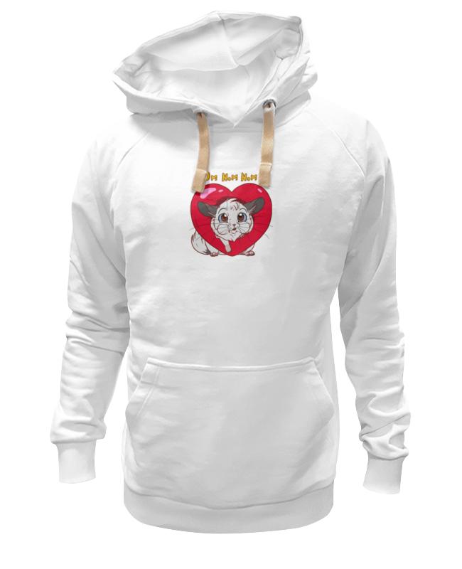 Толстовка Wearcraft Premium унисекс Printio Мышка и сердце толстовка wearcraft premium унисекс printio холодное сердце