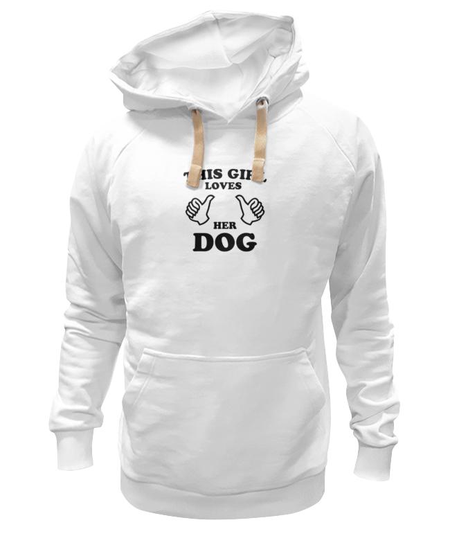 Толстовка Wearcraft Premium унисекс Printio Люблю свою собаку